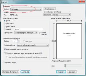 Cómo combinar 2 documentos pdf en 1 con PDF Creator 2